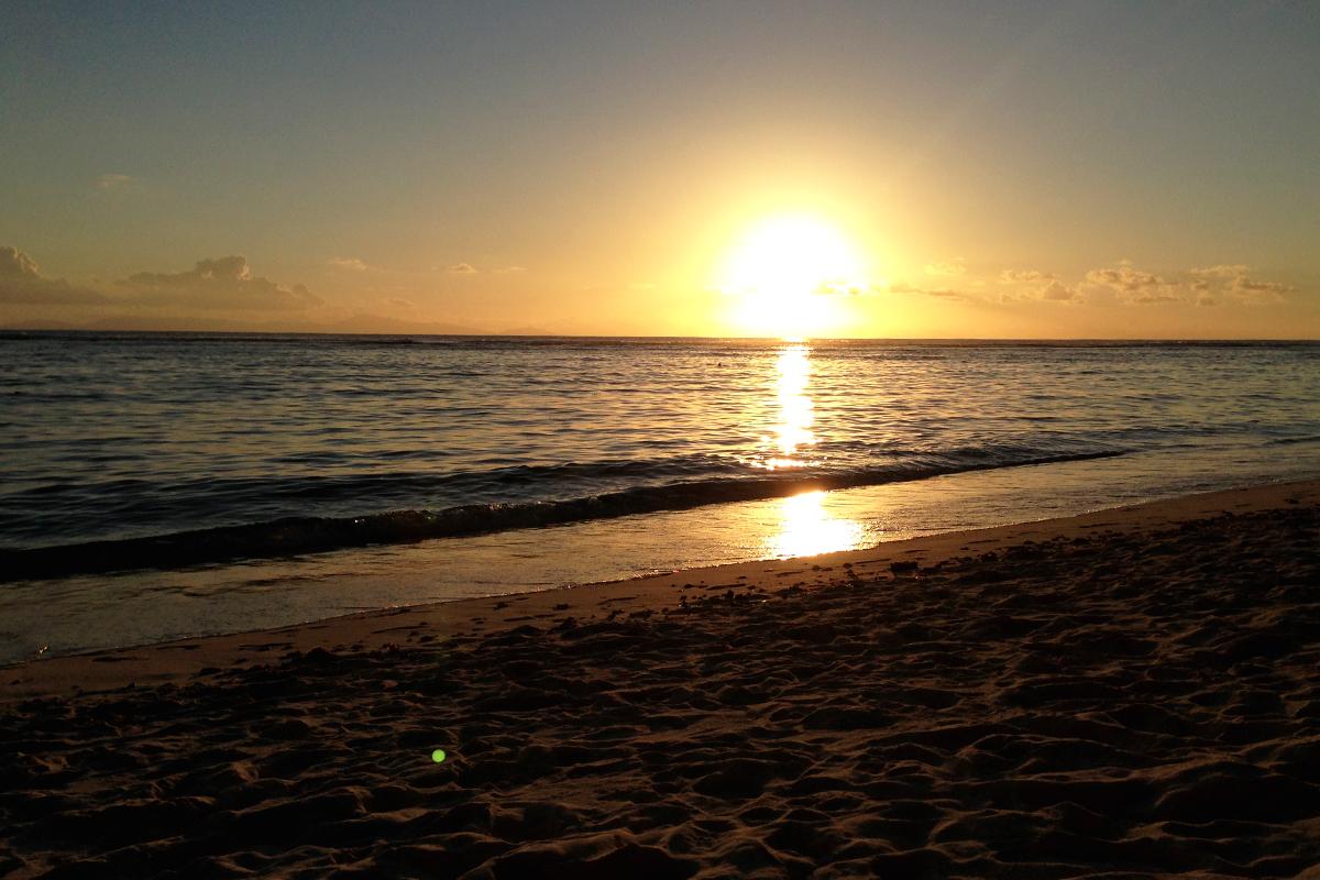 Anse Source D'Argent Sunset Seychelles Seychellen La Digue