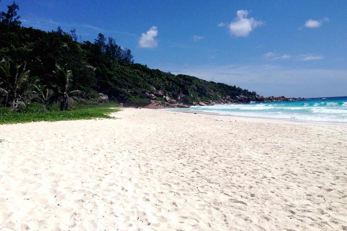 Petite Anse Seychelles Seychellen La Digue