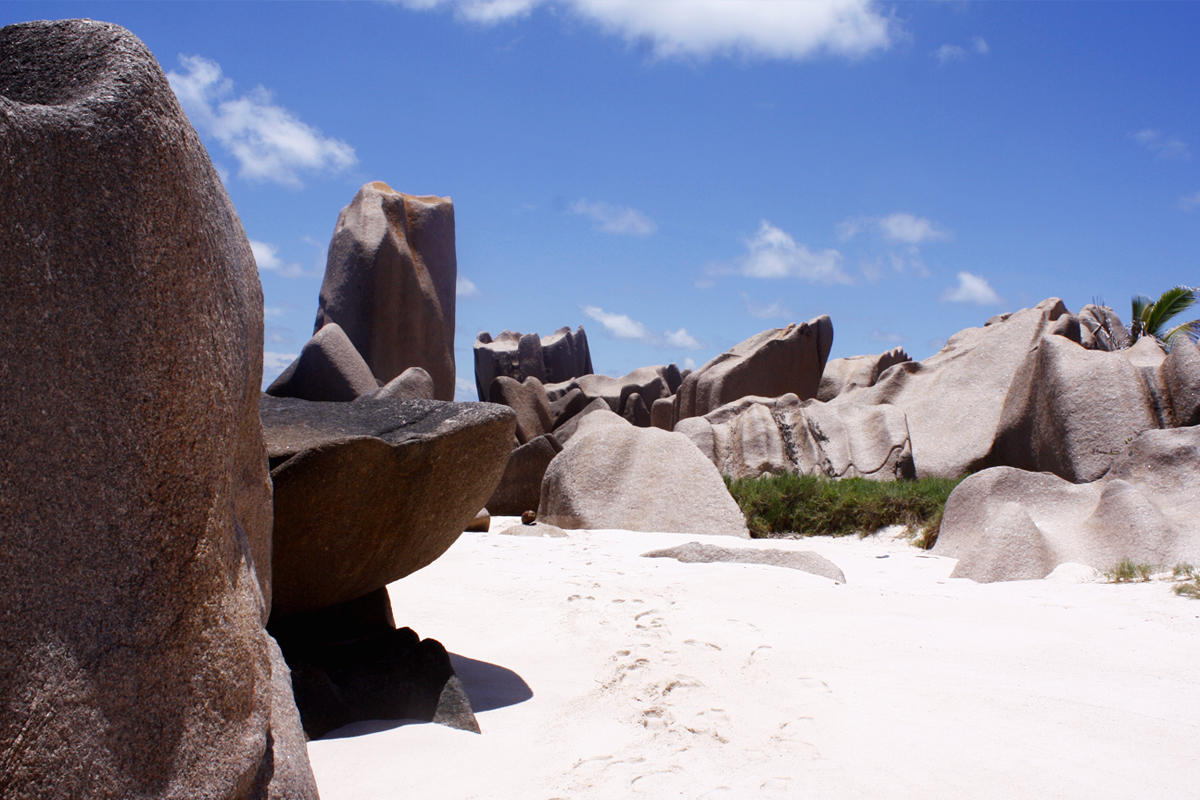 Anse Marron Seychelles Seychellen La Digue