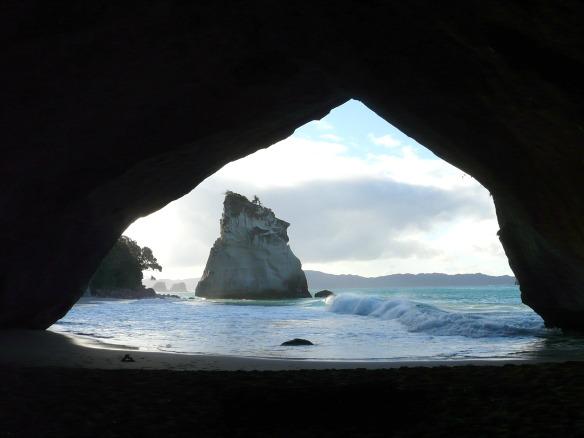 Neuseeland, Cathedral Cove auf der Halbinsel Coromandel.