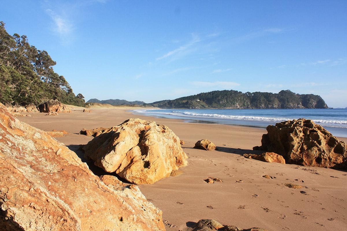 Hot Water Beach, Coromandel, Neuseeland, Rundreise