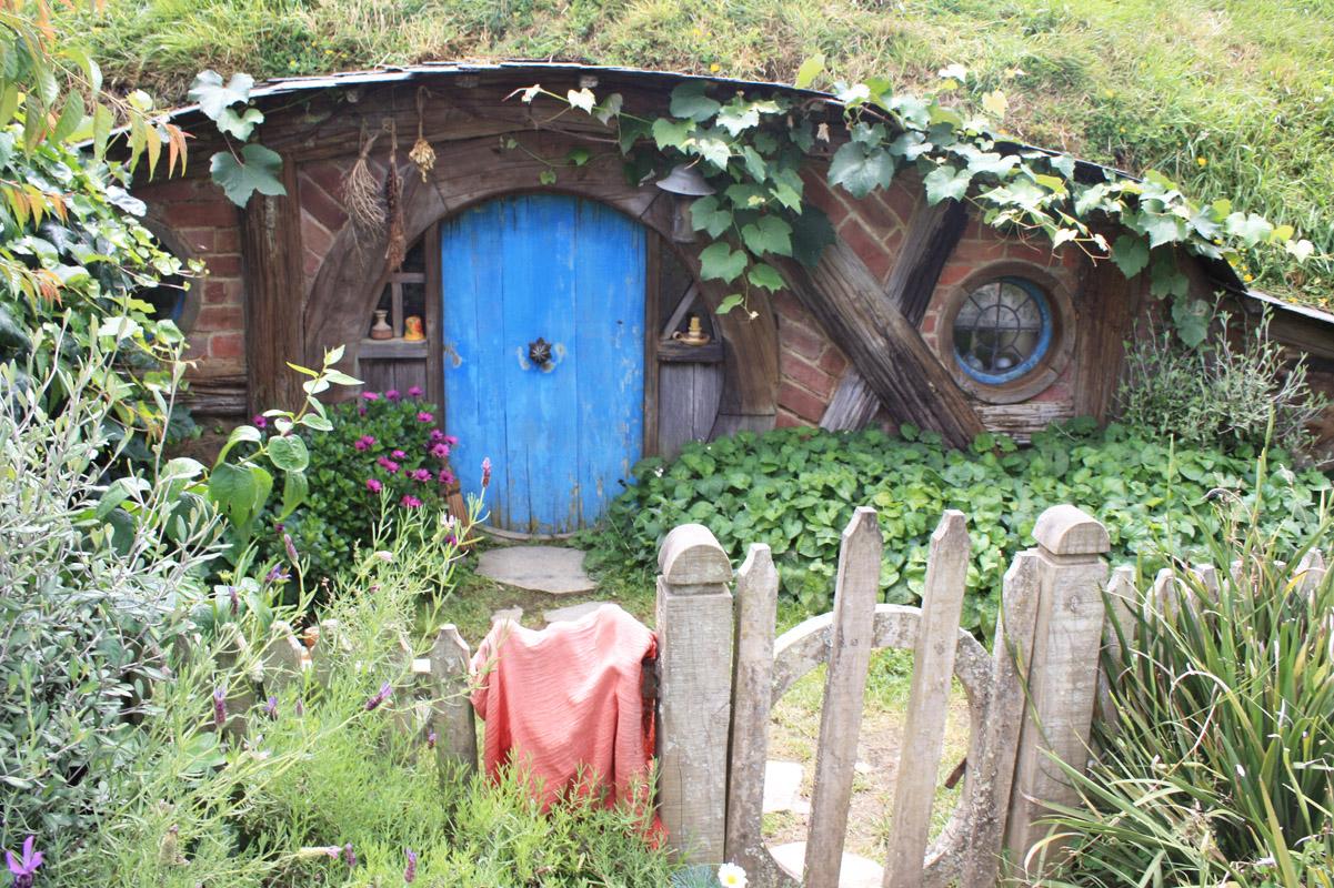 Hobbiton Movie Set, Neuseeland, Matamata, Hobbit