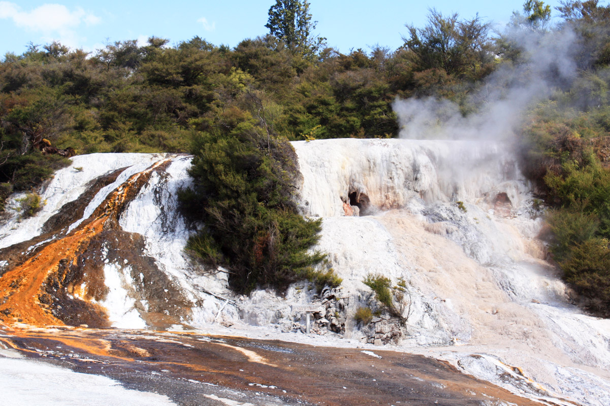 Thermalgebiet Orakei Korako, Neuseeland