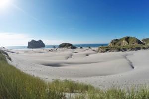 Wharariki Beach, Neuseeland