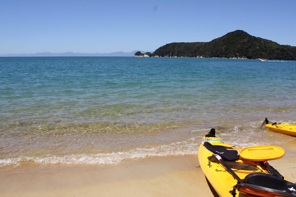 Neuseeland, Kajak fahren, Abel Tasman Nationalpark