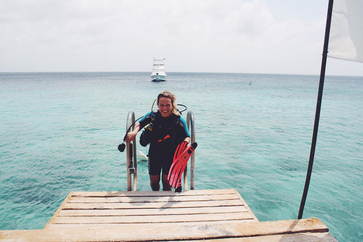 Tauchen auf Curacao mit Go West Diving, Alice im Wunderland Riff