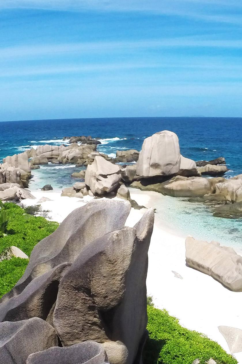 Anse Marron, La Digue, Seychellen, La Digue Tour Guide Seychelles