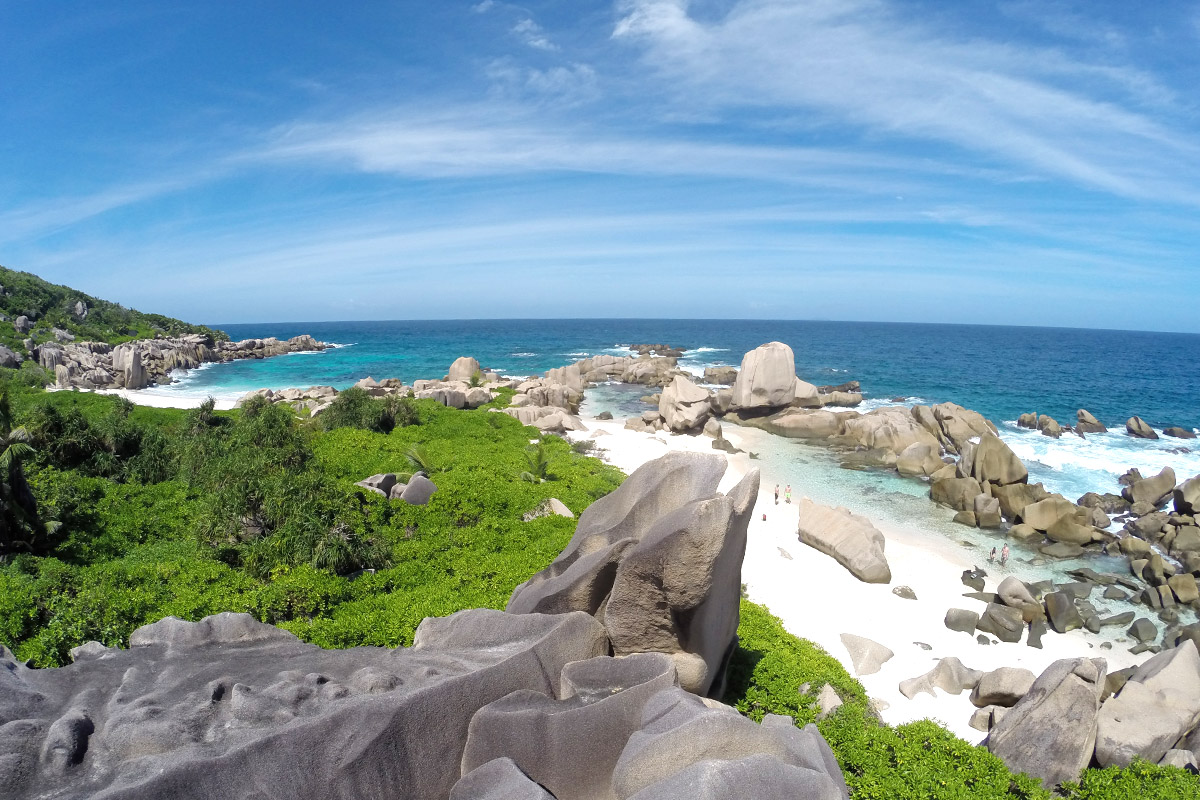 Anse Marron, La Digue, Seychellen
