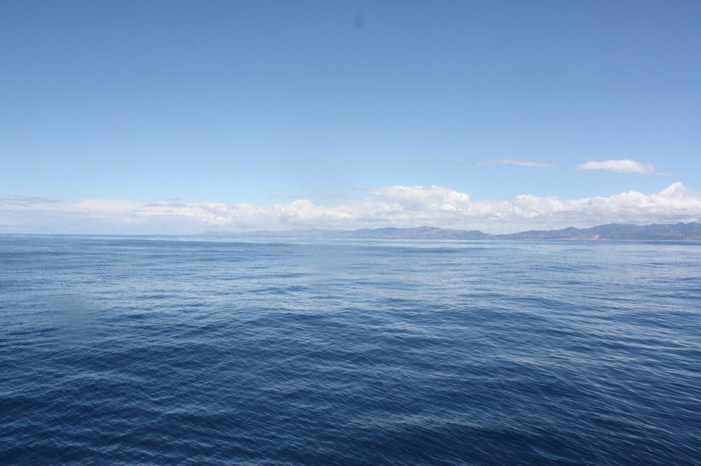 Südpazifik vor der Küste von Kaikoura, Neuseeland Südinsel
