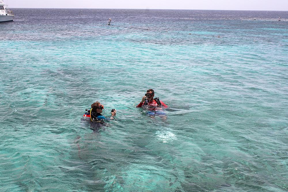 Tauchen auf Curacap, Go west diviing