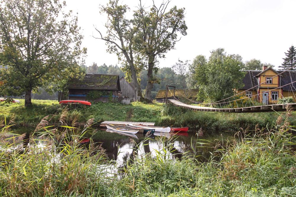 Raudna Fluss, Estland