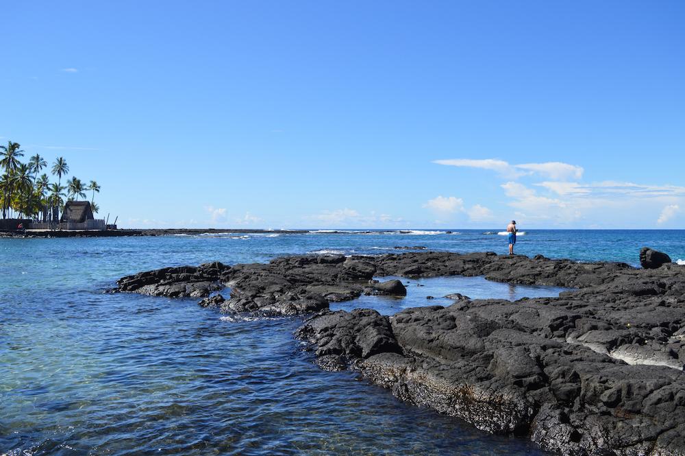 Schnorcheln auf Hawaii, Honaunau Bay