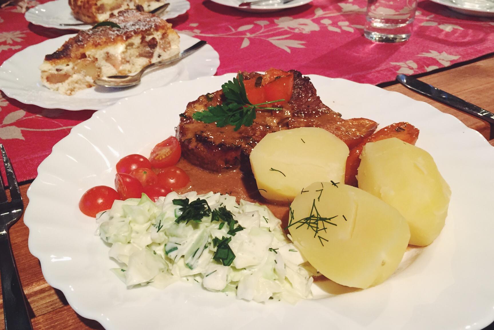 Essen in Estland