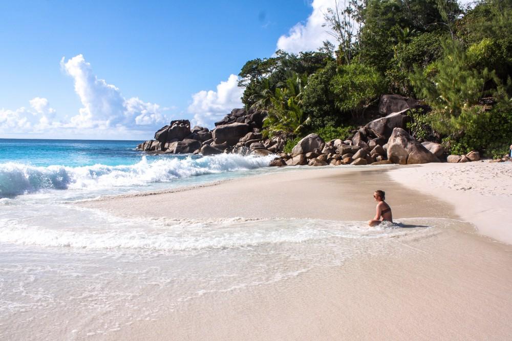Anse Georgette, Praslin, Seychellen