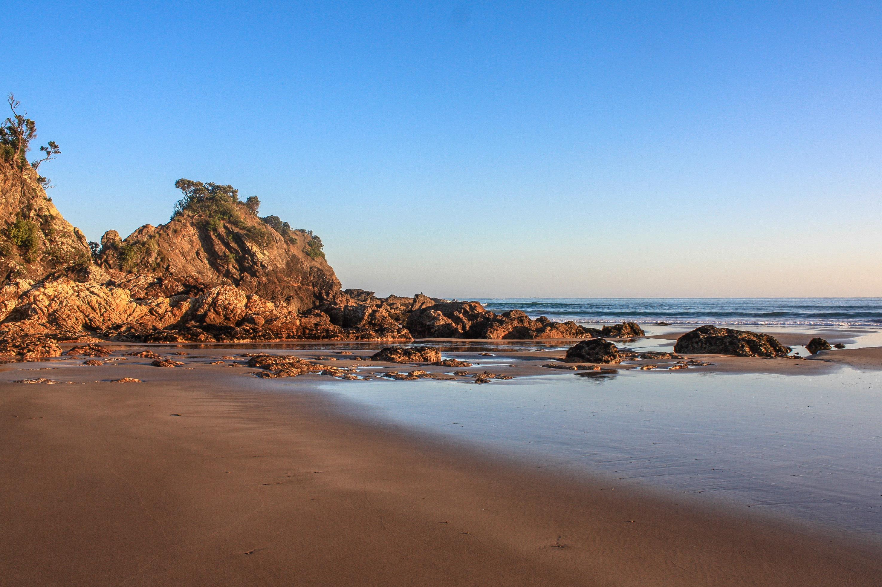 Hot Water Beach Neuseeland
