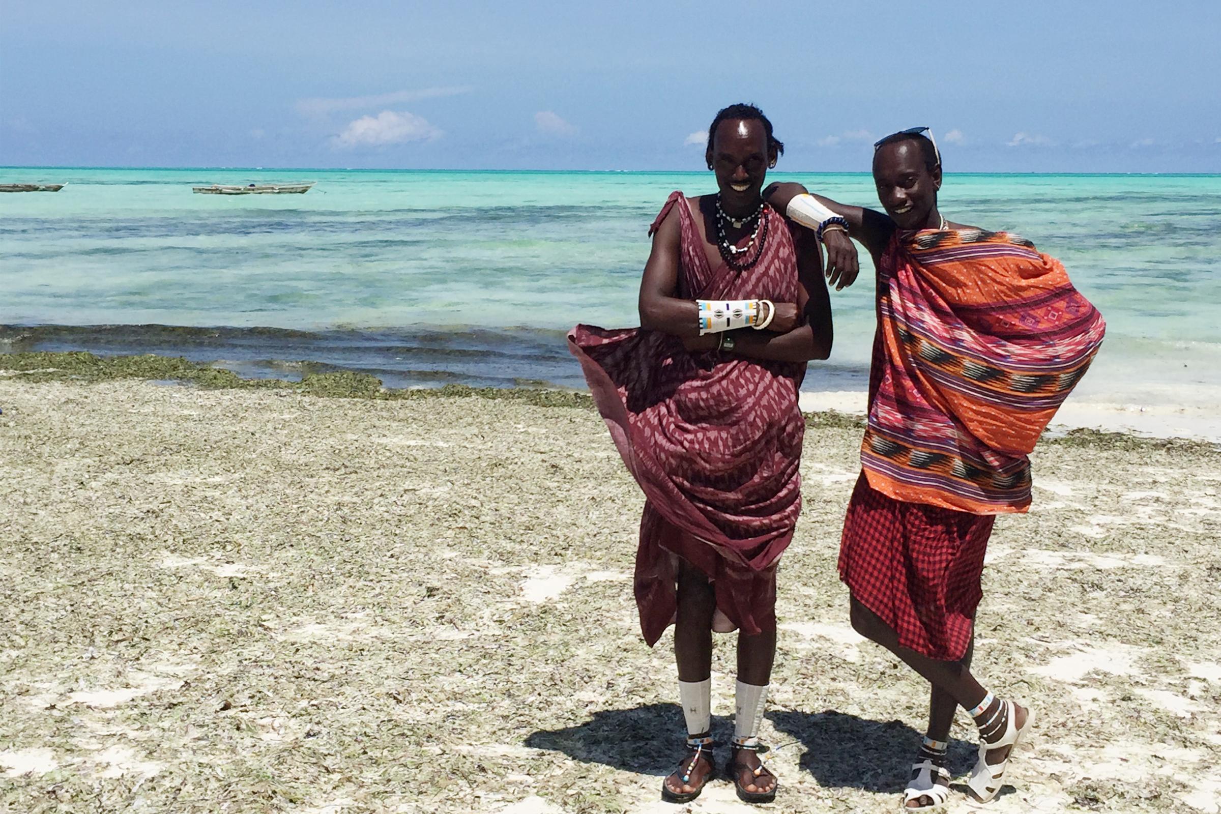 Massai Sansibar Tansania