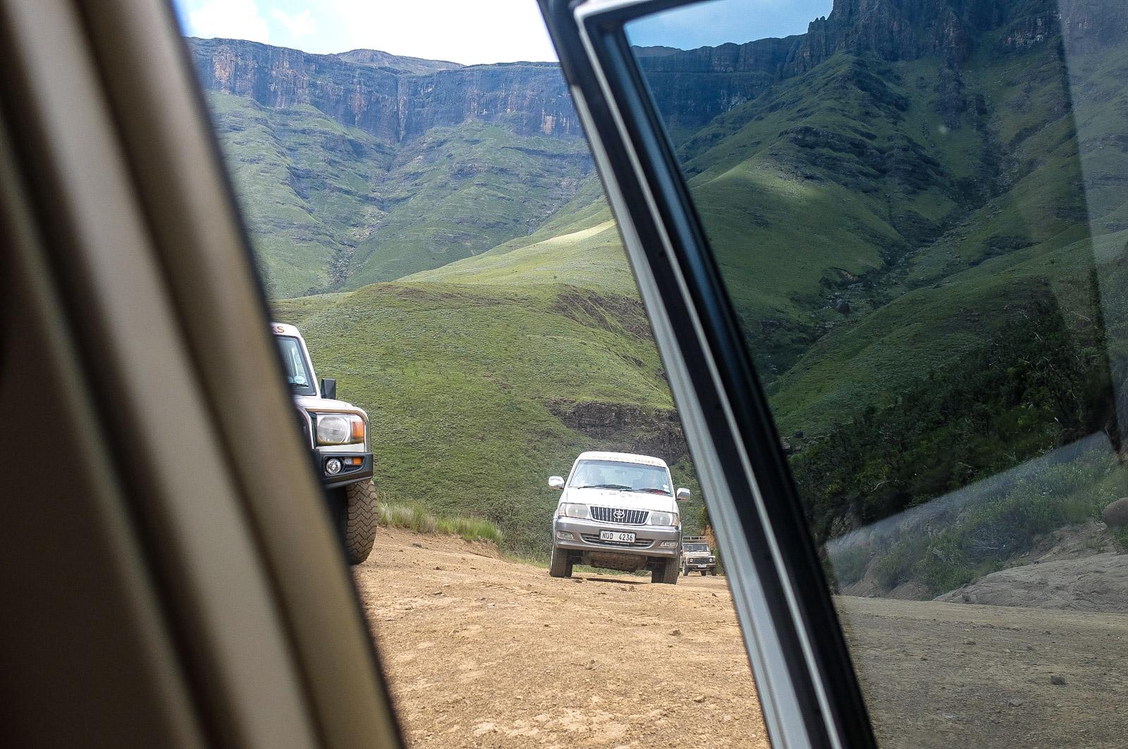 Sani pass Südafrika