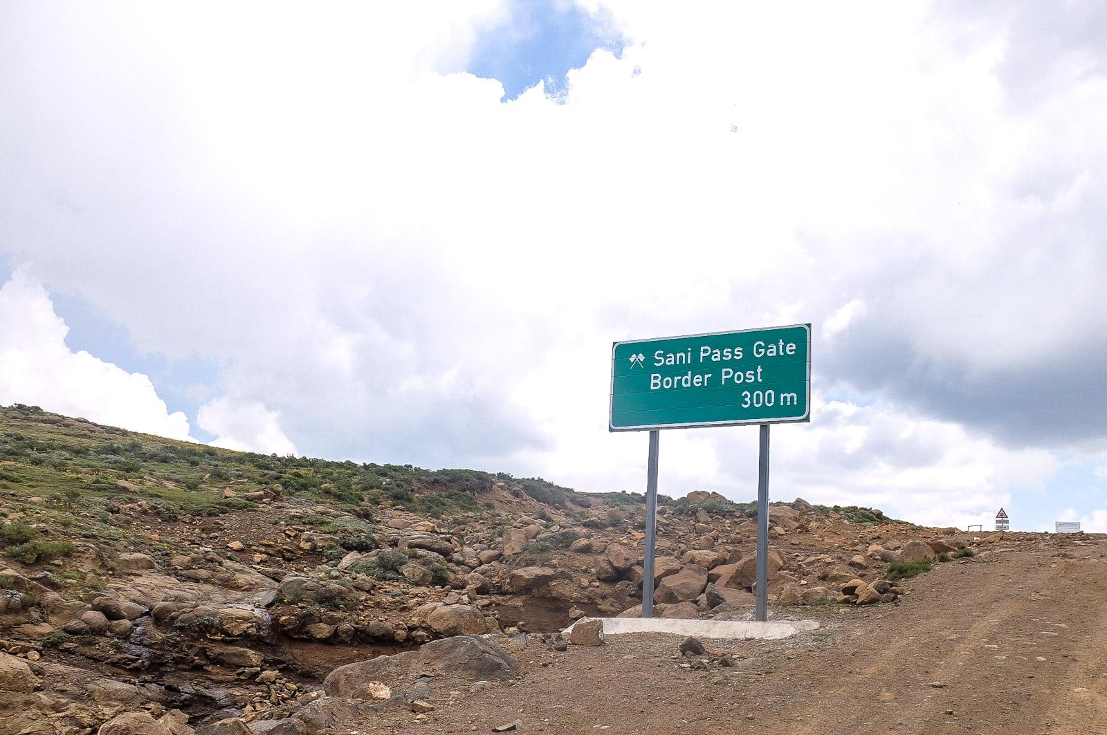 Sani Pass Boarder