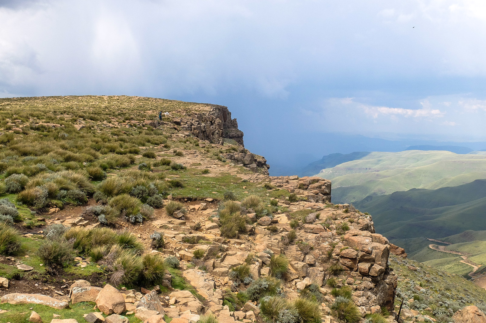 Sani Pass Südafrika Lesotho