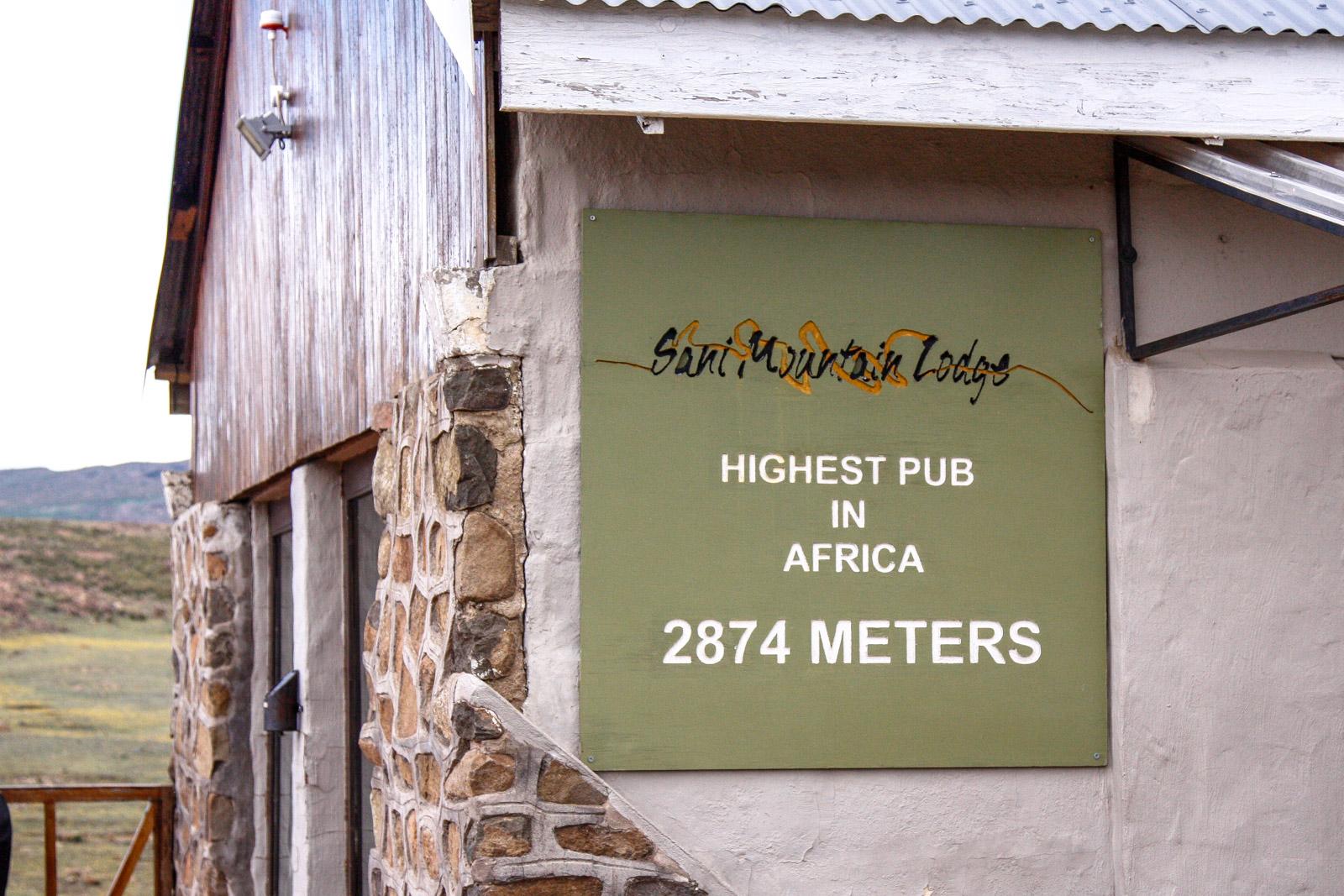 Der höchste Pub Afrikas