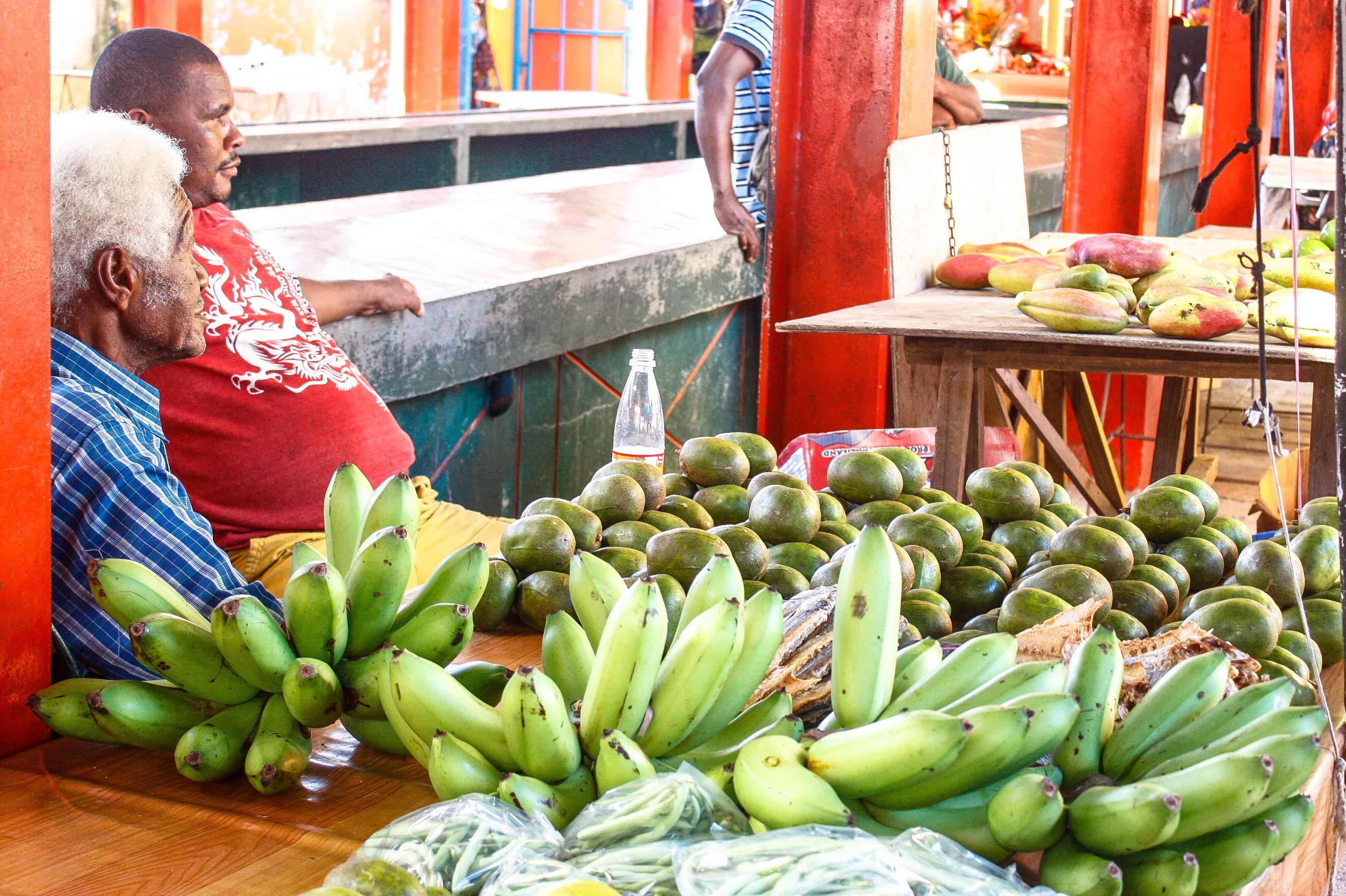 Sir Selwyn Selwyn Clarke Market , Victoria, Mahé, Seychellenn
