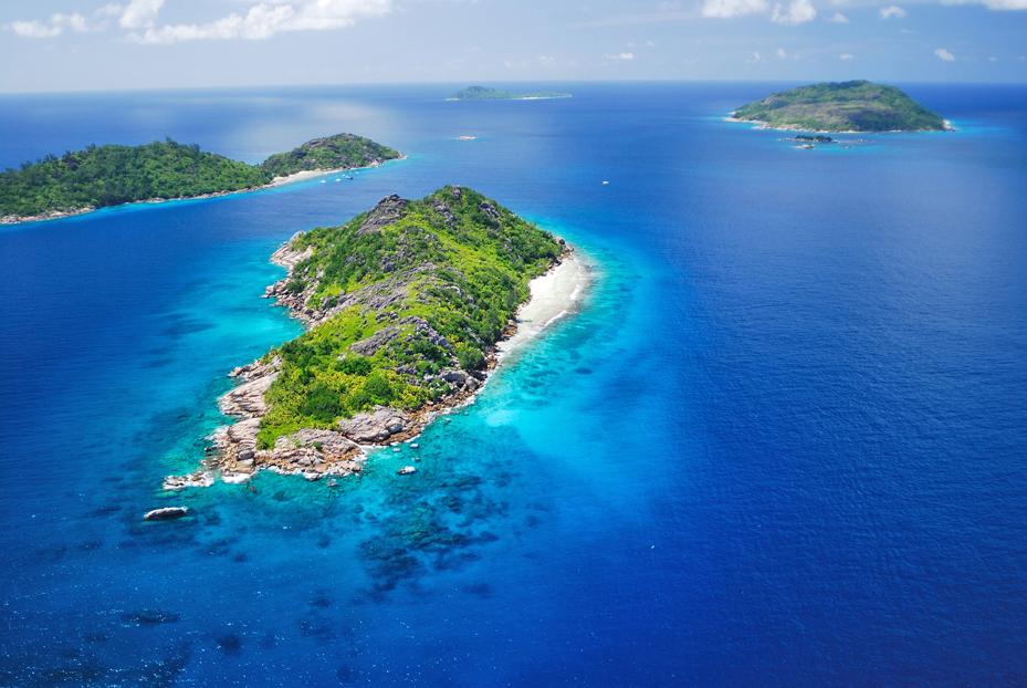 Félicité & Sister Island , seychellen