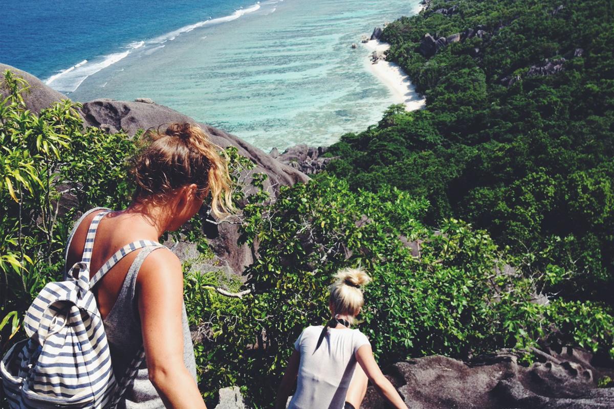 Wandern Seychellen