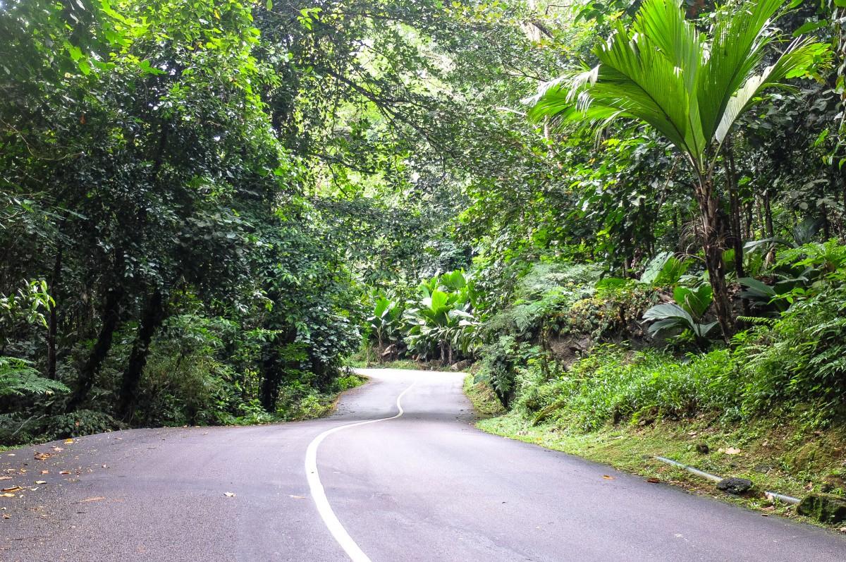 Roadtrip Mahé Seychellen