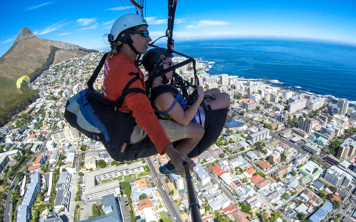 Cape Town Tandem Paragliding with Parapax