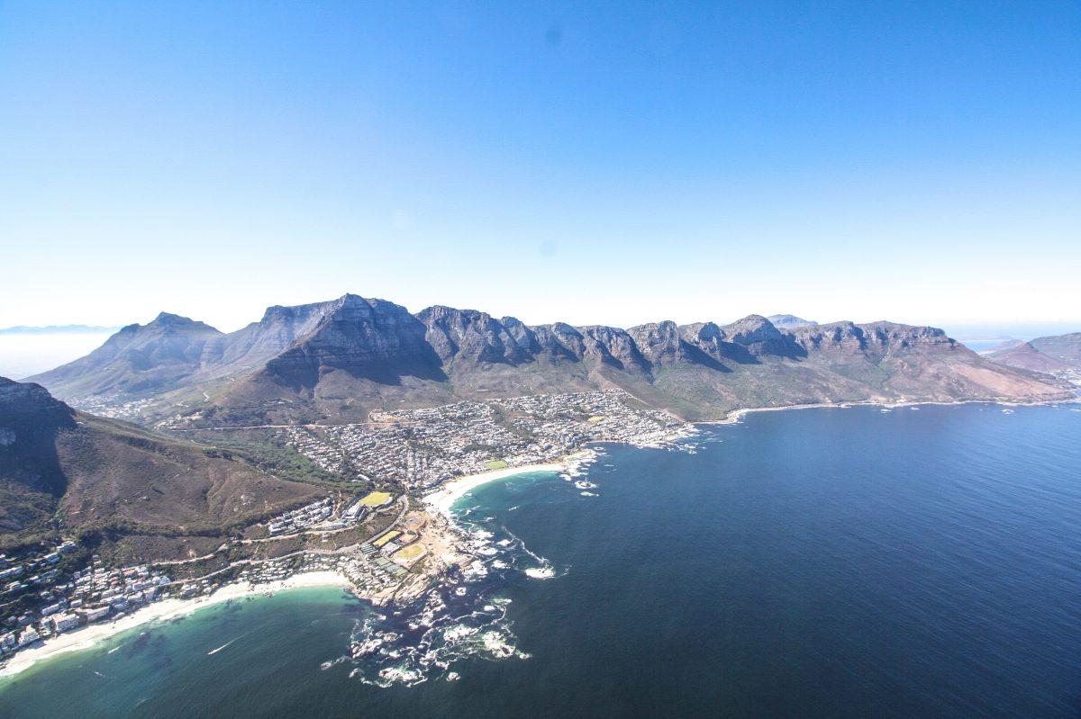Helikopter Rundflug Kapstadt Südafrika