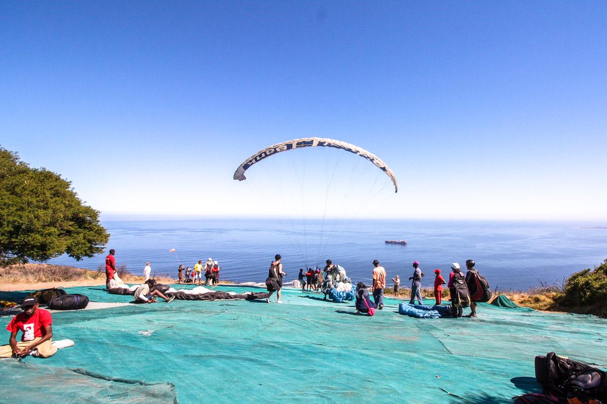 Tipps für Kapstadt: Paragliding kapstadt mit Parapax