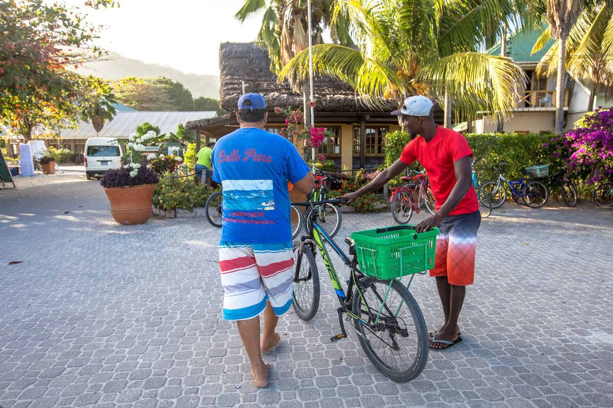 La Digue Tipps: Fahrrad ausleihen auf La digue