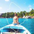 Über das Leben auf einer kleinen Insel, Seychellen, La Digue