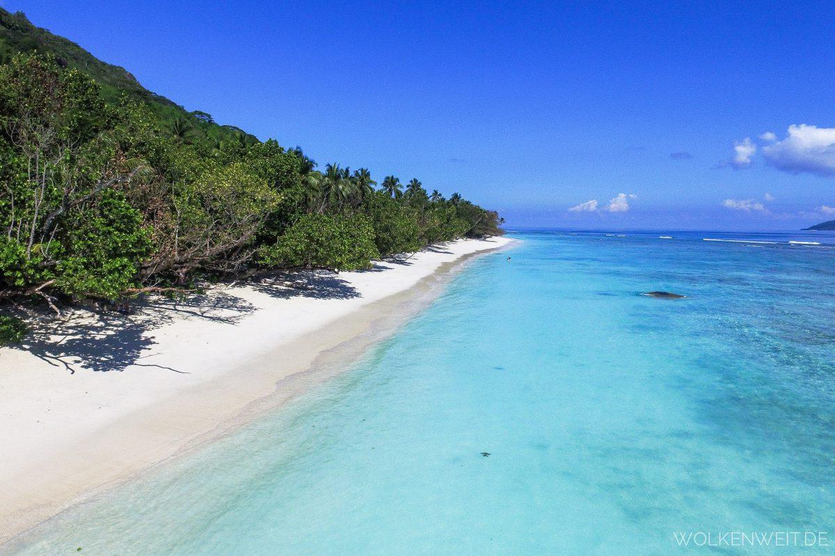 Anse La Passe Silhouette Island Seychellen
