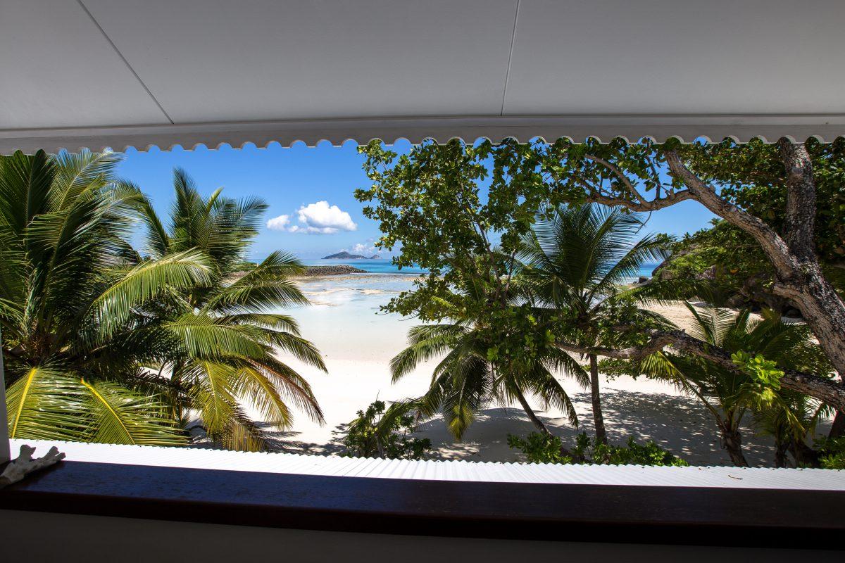 La Belle Tortue Silhouette Seychellen