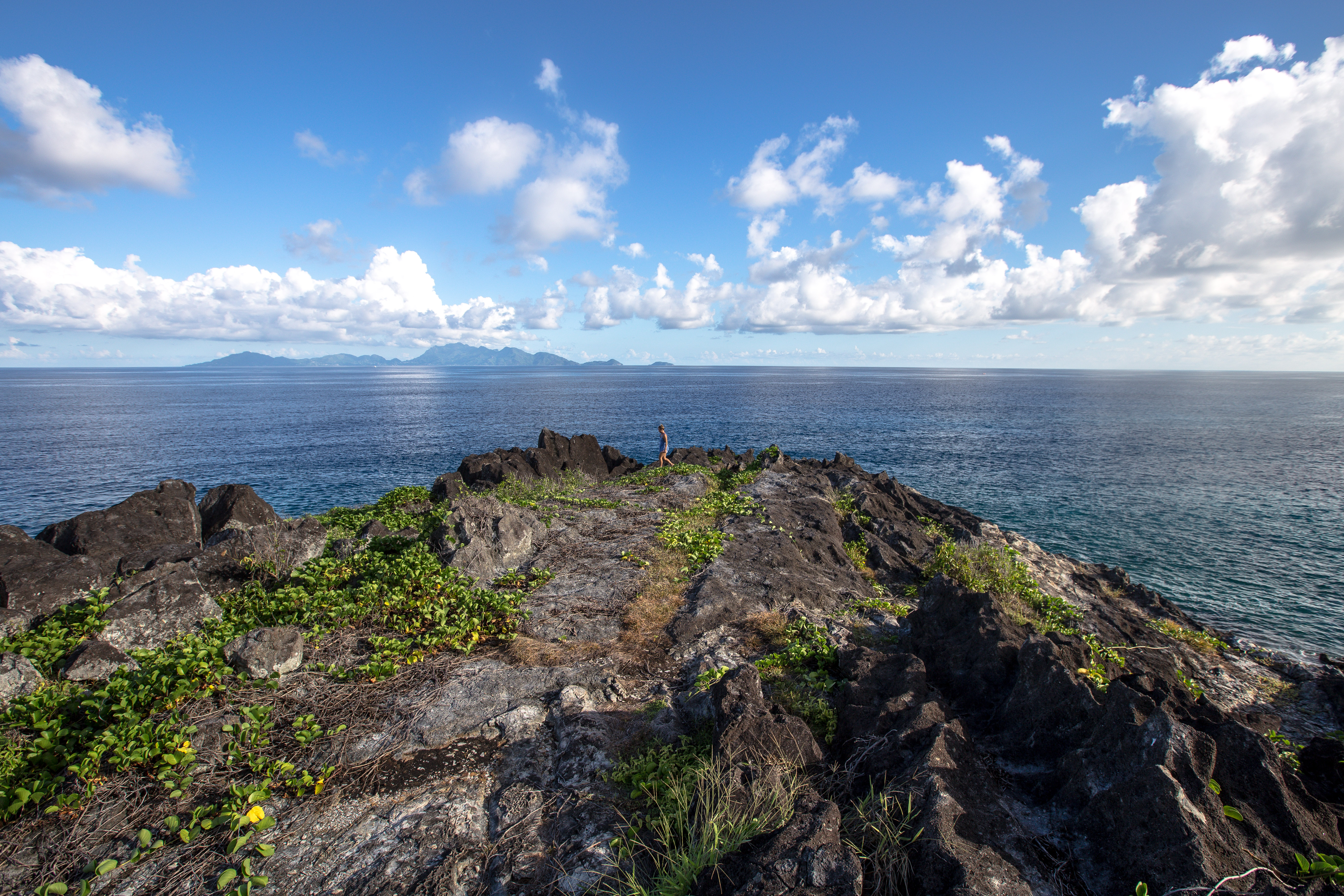 Silhouette Island Seychellen