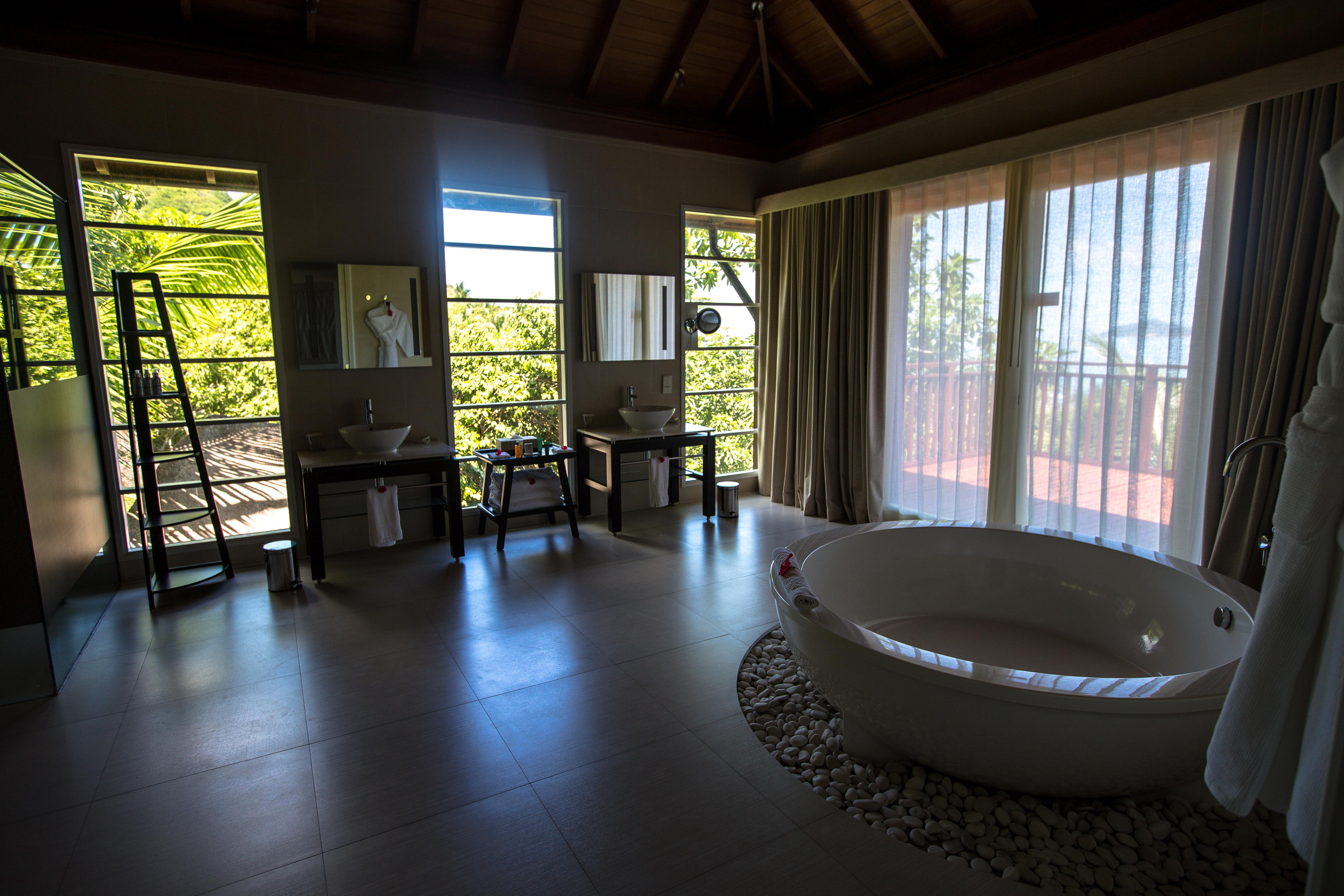 Hilton Seychelles Labriz Resort & Spa, Silhouette, Seychellen