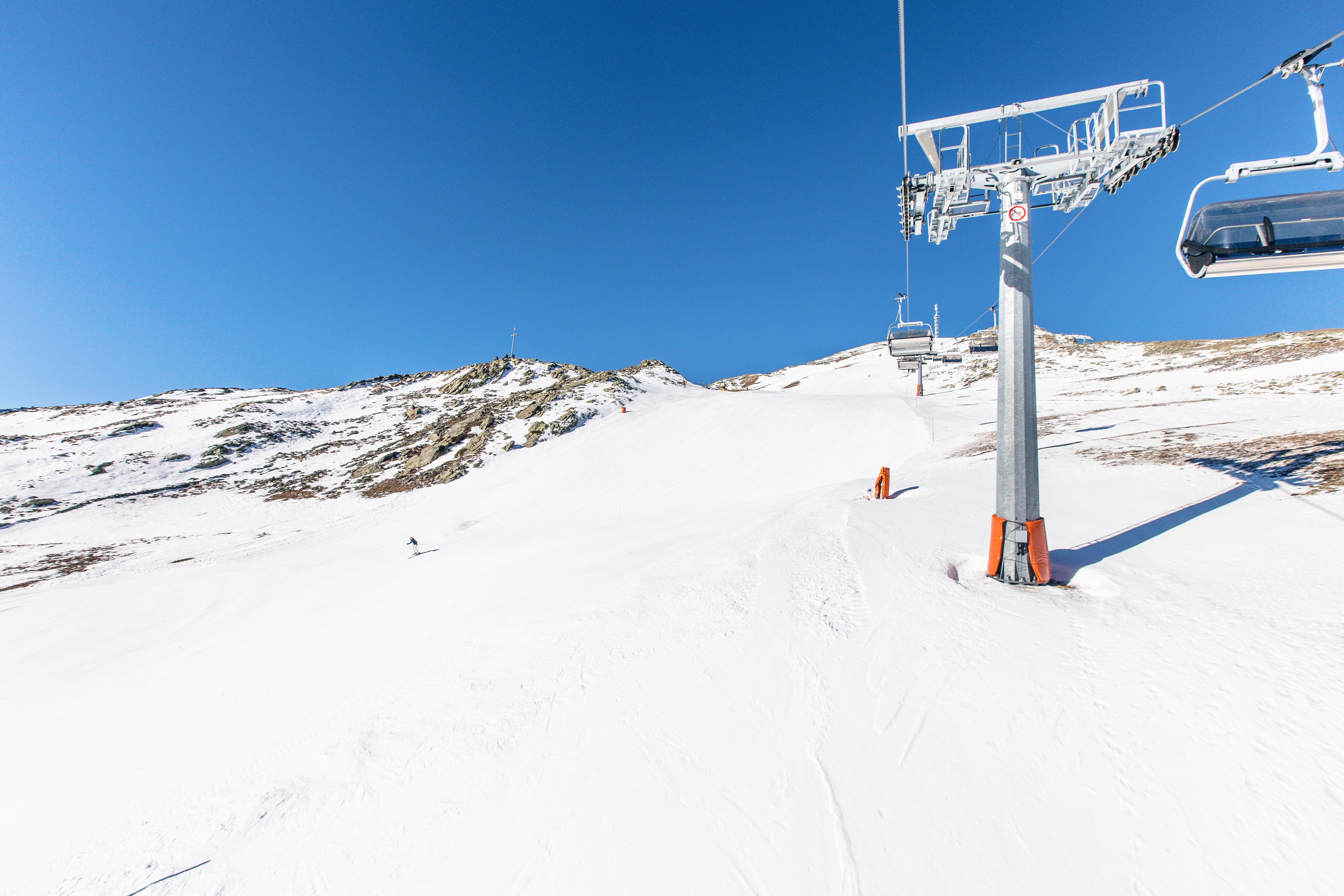 Skigebiet Schwemmalm Ultental Südtirol