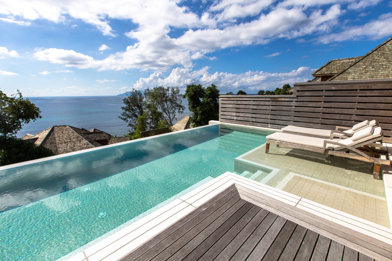 Unterkünfte Mahé Seychellen: King Grand Ocean View Pool Villa