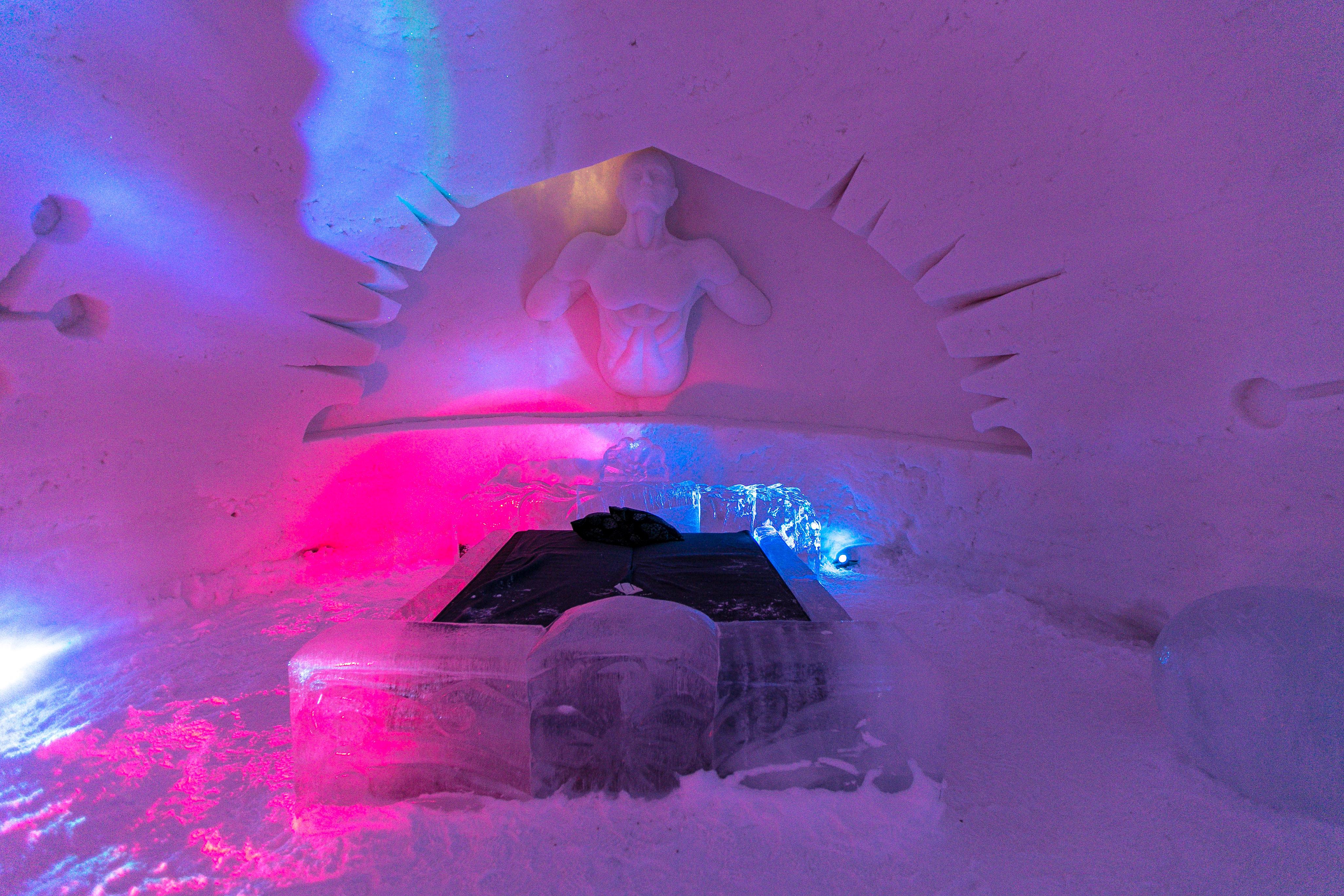 Snowvillage Finnland, Eishotel, Eishotel Lappland
