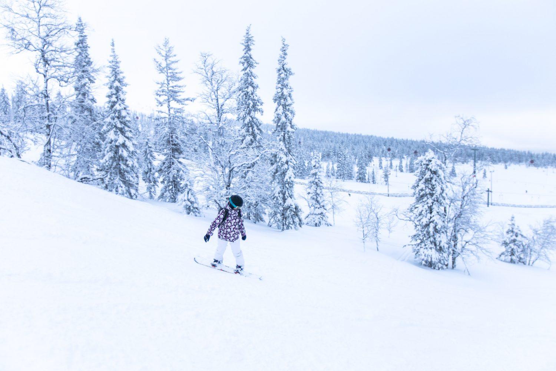 Skifahren Lappland, Skigebiet Yllläs, Finnland
