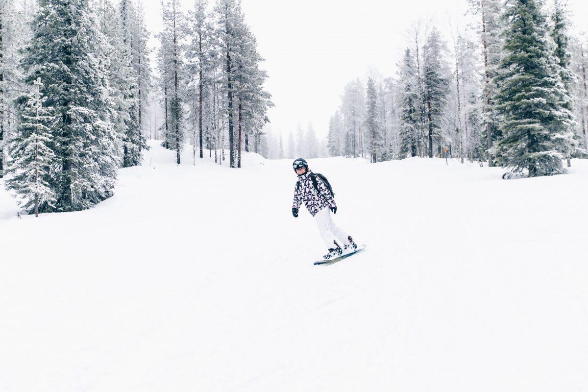 Levi Lappland, Finnland, Snowboarden, Skifahren, Skigebiet Levi