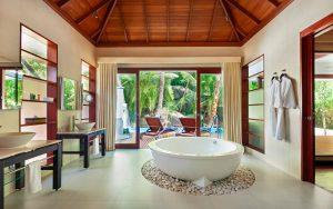 Urlaub auf den Seychellen, Inselhopping, Silhouette, Hilton Labriz