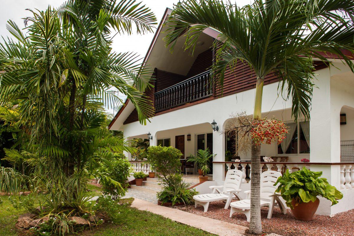 Pension Fidele, Gästehäuser La Digue, Seychellen