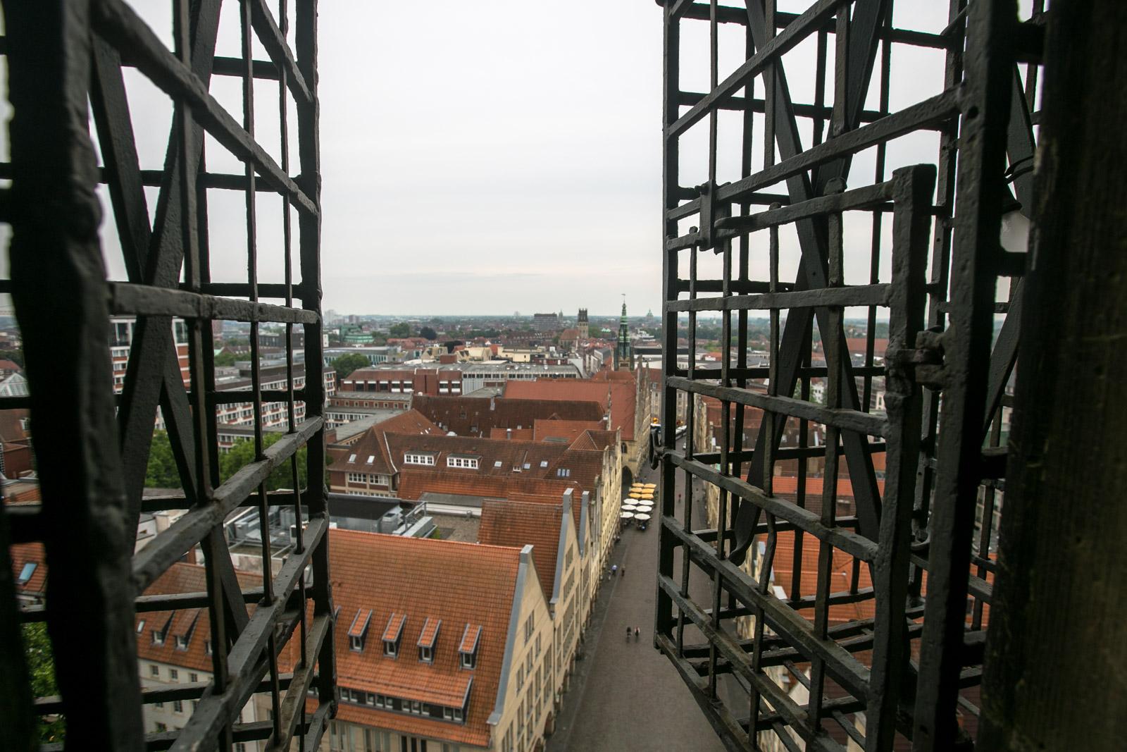 Mein Besuch bei der Türmerin in Münster, St. Lamberti, Traditionen, Turmbesichtigung,Mein Besuch bei der Türmerin in Münster, St. Lamberti, Traditionen, Turmbesichtigung
