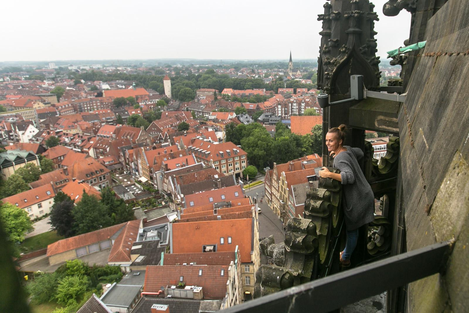 Mein Besuch bei der Türmerin in Münster