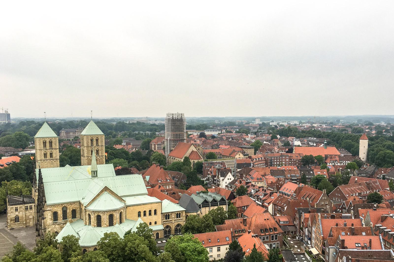 Turmbesichtigung Lamberti Kirche Münster, Türmerin Münster, Martje