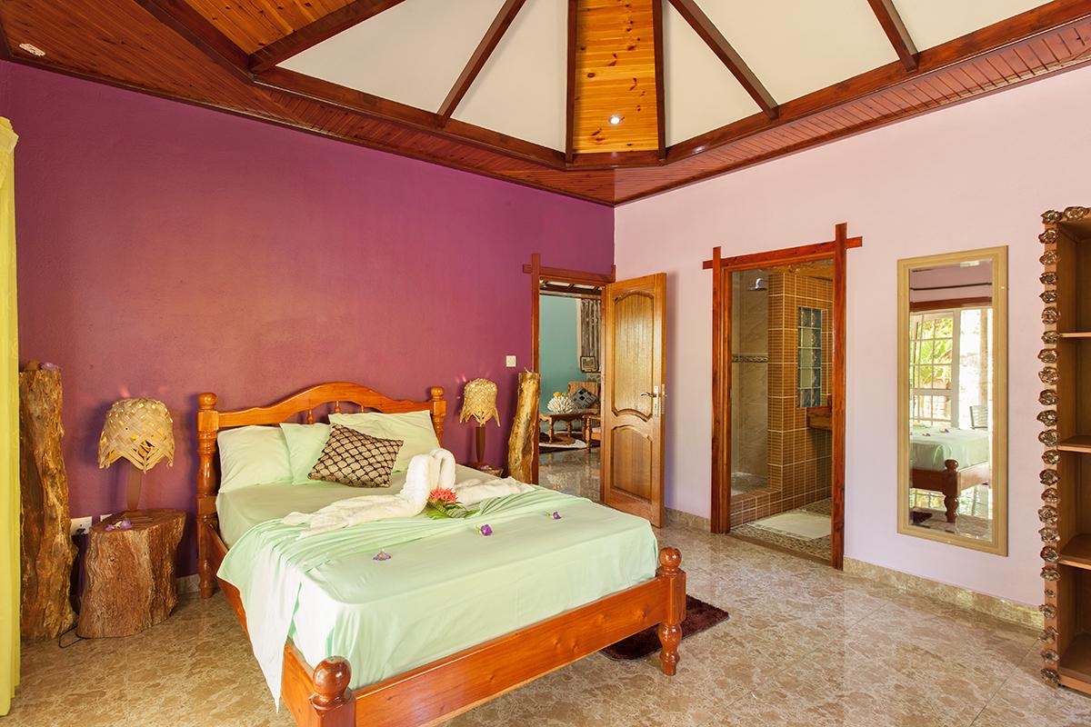 Elje Villa, Unterkunft La Digue, Gästehaus Seychellen