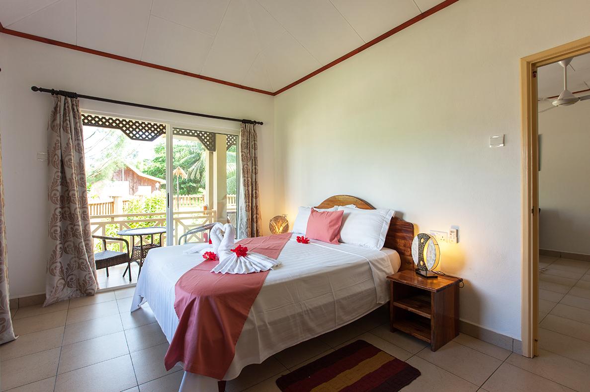 Hostellerie La Digue, Unterkunft Seychellen, Inselhopping