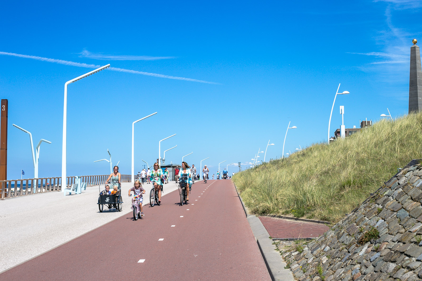 Scheveningen Tipps, Fahrrad fahren